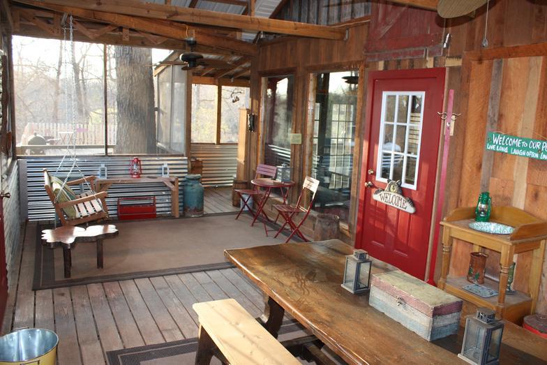 Screened Porch Patio